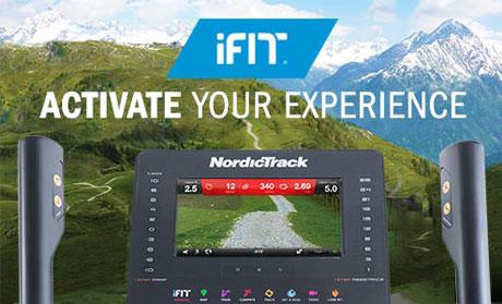 Bicicleta eliptica Nordic Track NEW FreeStride Trainer FS7i