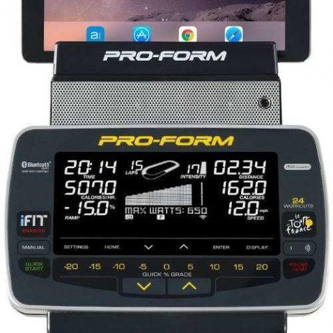 ProForm TDF 2.0 display